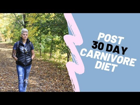 Carnivore Diet - Post 30 Day thumbnail