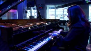Simone Dinnerstein WQXR Google Hangout- Bach's Invention No. 8 in F Major