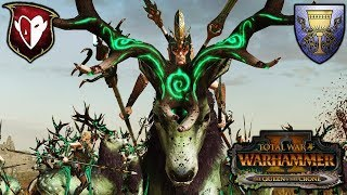 THE BEAUTIFUL GAME - Wood Elves (Zeblasky) vs. Bretonnia (Soothsayer) - Total War Warhammer 2