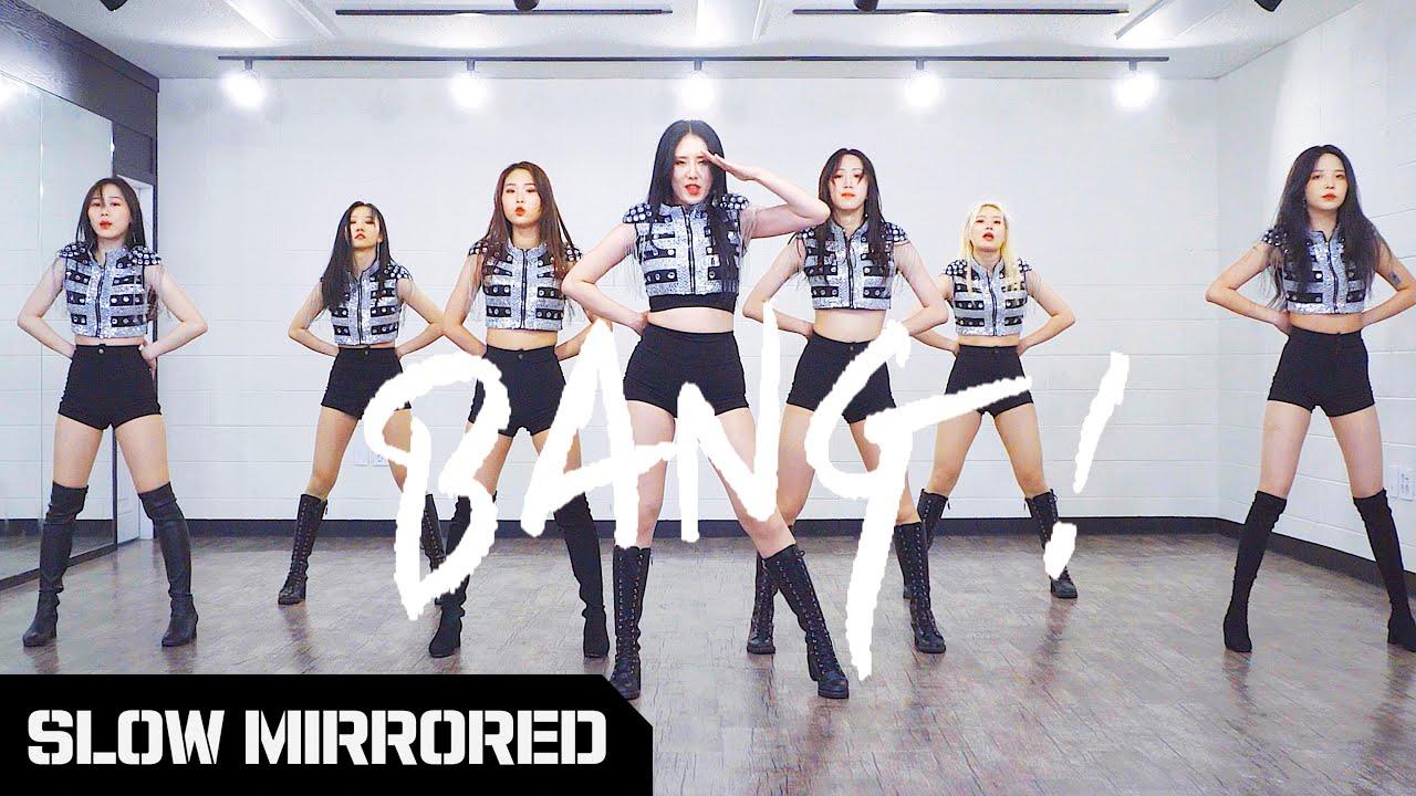 [SLOW] After School 애프터스쿨 - '뱅(BANG)!' | 커버댄스 DANCE COVER | 안무 배우기 느리게 거울모드 SLOW MIRROR MODE