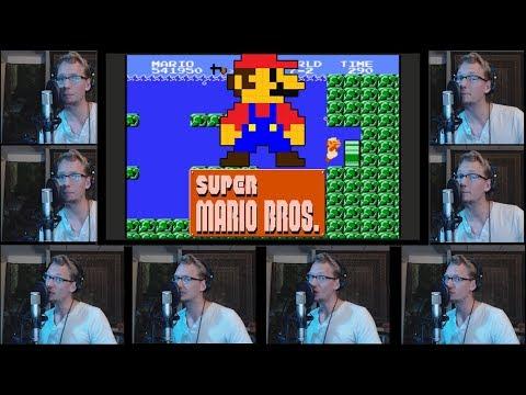 Super Mario Bros - Acapella Speed Run