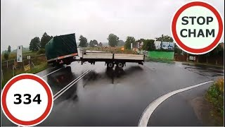 Stop Cham #334 - Niebezpieczne i chamskie sytuacje na drogach