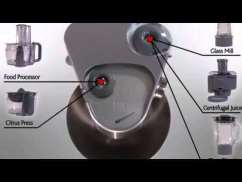 Kenwood Prospero Compact Mixer KM283 YouTube