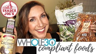 Whole30 Must Haves from Trader Joe