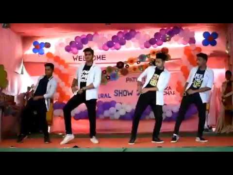group dance (Aa toh sahii) Pathfinder Academy mankachar cultural show