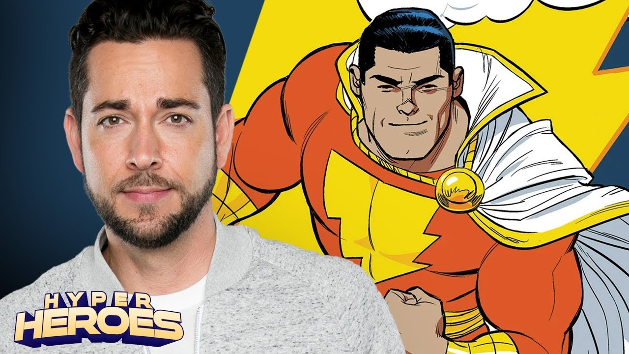 Zachary Levi is SHAZAM! – Hyper Heroes