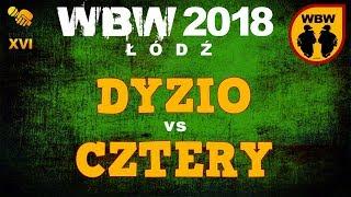 bitwa CZTERY vs DYZIO # WBW 2018 Łódź (o 3 miejsce) # freestyle battle