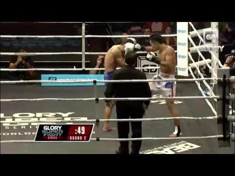 GLORY SuperFight Series Los Angeles - Hinata vs Johann Fauveau (Full Video)