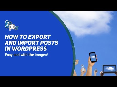 Export and Import posts with images in Wordpress thumbnail