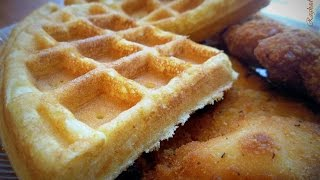 Cornbread Waffles And Cornbread Pancakes