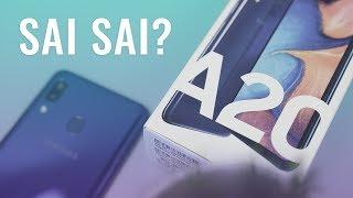 Galaxy A20: Có gì đó sai sai?