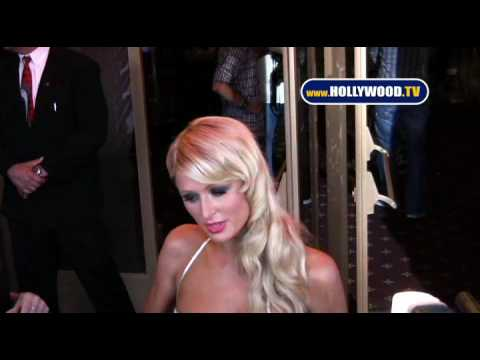Paris Hilton At Paris , Not France Event.