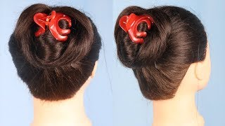 Latest juda hairstyle with using clutcher || simple hairstyle || hair style girl |cute hairstyles ||