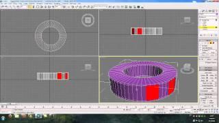 Моделирование шестеренки в 3Ds Max