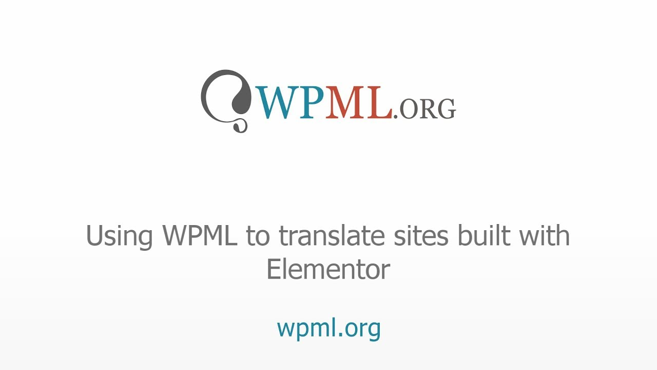 A New Way to Translate Elementor Pages With WPML