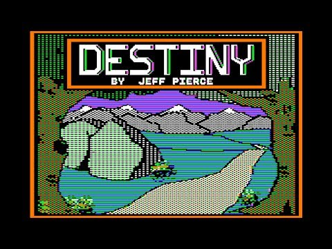 40K views celebration: Destiny walkthrough w/ cheats (Apple II - Destiny Software)