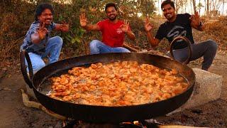 Chilli Garlic Shrimp Recipe | Quick & Easy Chilli Garlic Shrimp Fry By grandpa kitchen