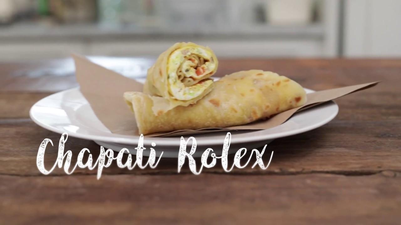 Chapati Rolex recipe