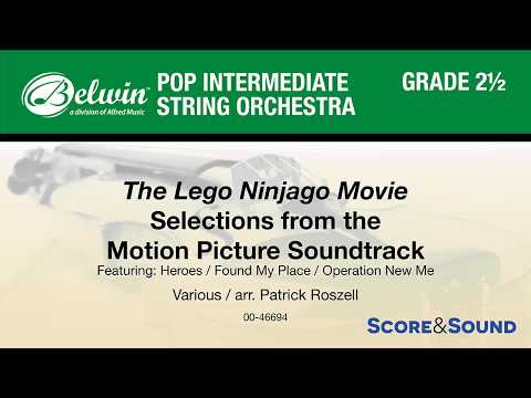 The LEGO Ninjago Movie: Selections From The Motion Picture