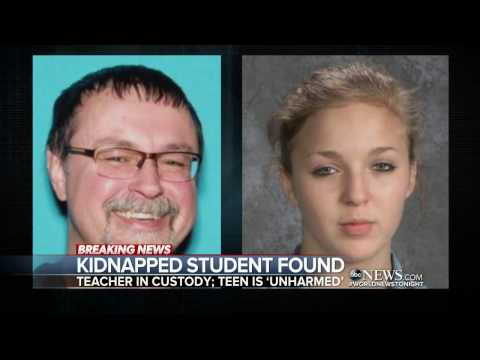 Tennessee teacher accused of kidnapping girl arrested in California
