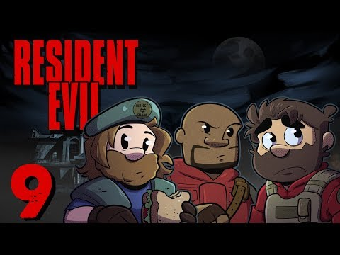Resident Evil HD Remake | Let's Play Ep. 9 | Super Beard Bros.