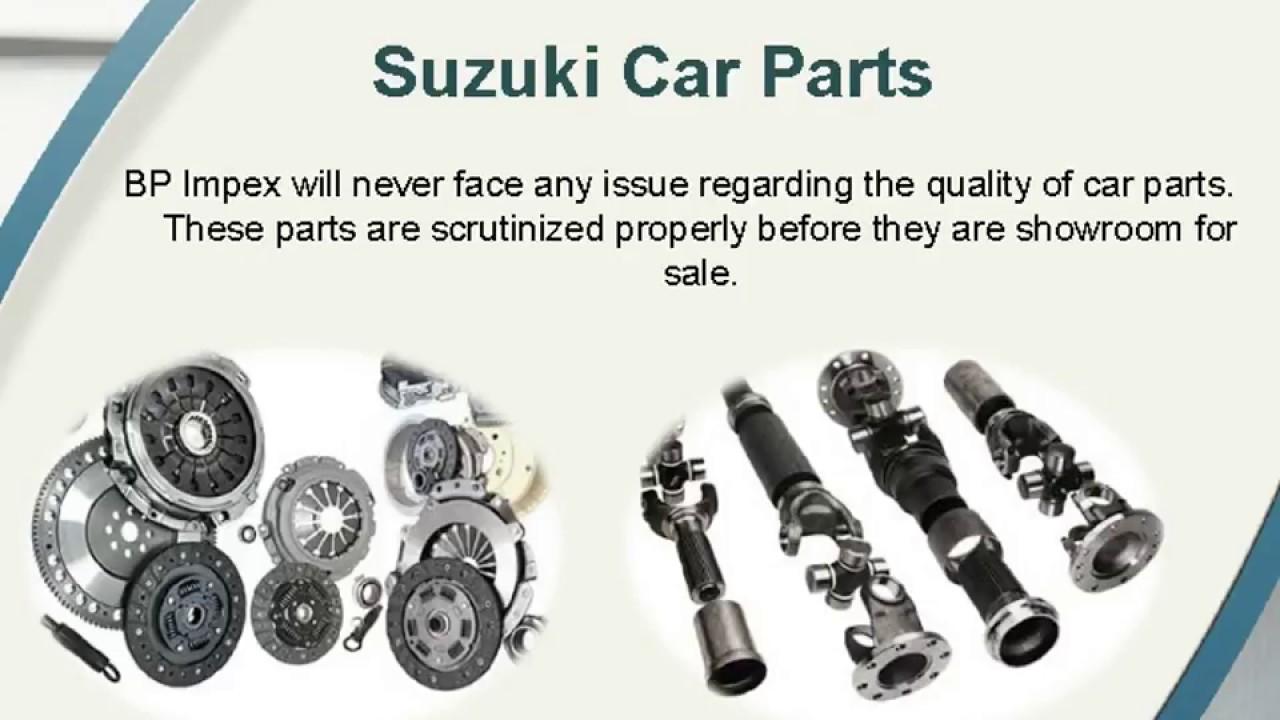 Genuine Suzuki Spare Parts Bp Auto Spares India Youtube
