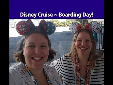 Boarding the DISNEY MAGIC Cruise Ship! [Vlog ep3] 2017