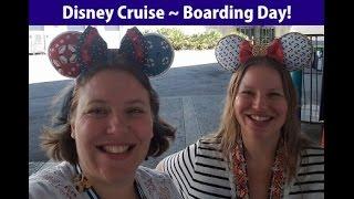 boarding the disney magic cruise ship 2017 vlog ep3