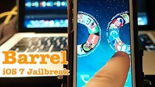 iOS 7 Jailbreak: Barrel Cydia Tweak iPhone 5 Tested