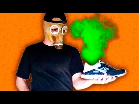 Как убрать запах из обуви быстро