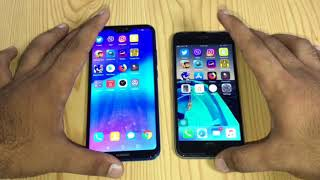Huawei p20 lite vs iPhone 6s - Speed Test!