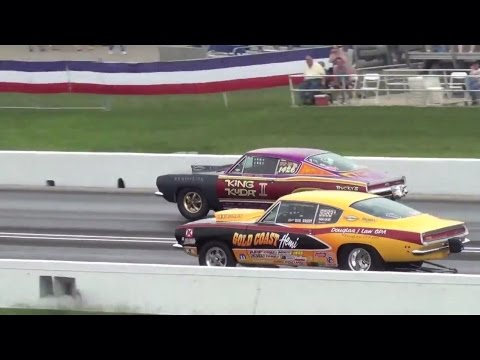 Mopar Hemi Challenge Shootout 60th US Nationals 2014