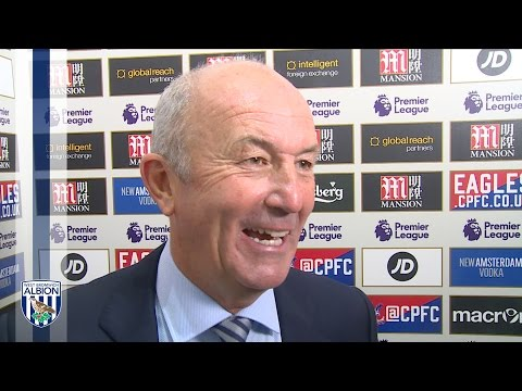 Tony Pulis evaluates Albion's 1-0 Premier League win at Crystal Palace