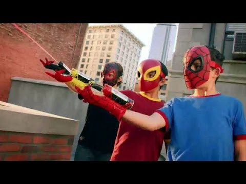 Marvel Ultimate Spider Man Gear Commercial 2016