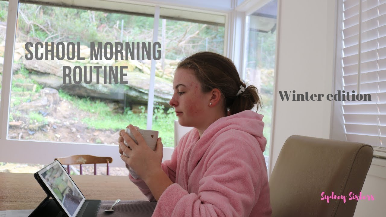 My Real School Morning Routine 2019- Sydney Sisters