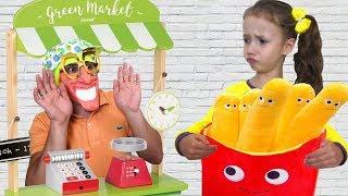 Ulya and Magic Toy Food