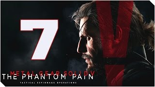 METAL GEAR SOLID V THE PHANTOM PAIN | Cap 7 | Como un fantasma!