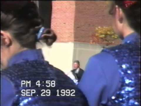 Bill Clinton 1992 Presidential Campaign Rally at Ohio State University