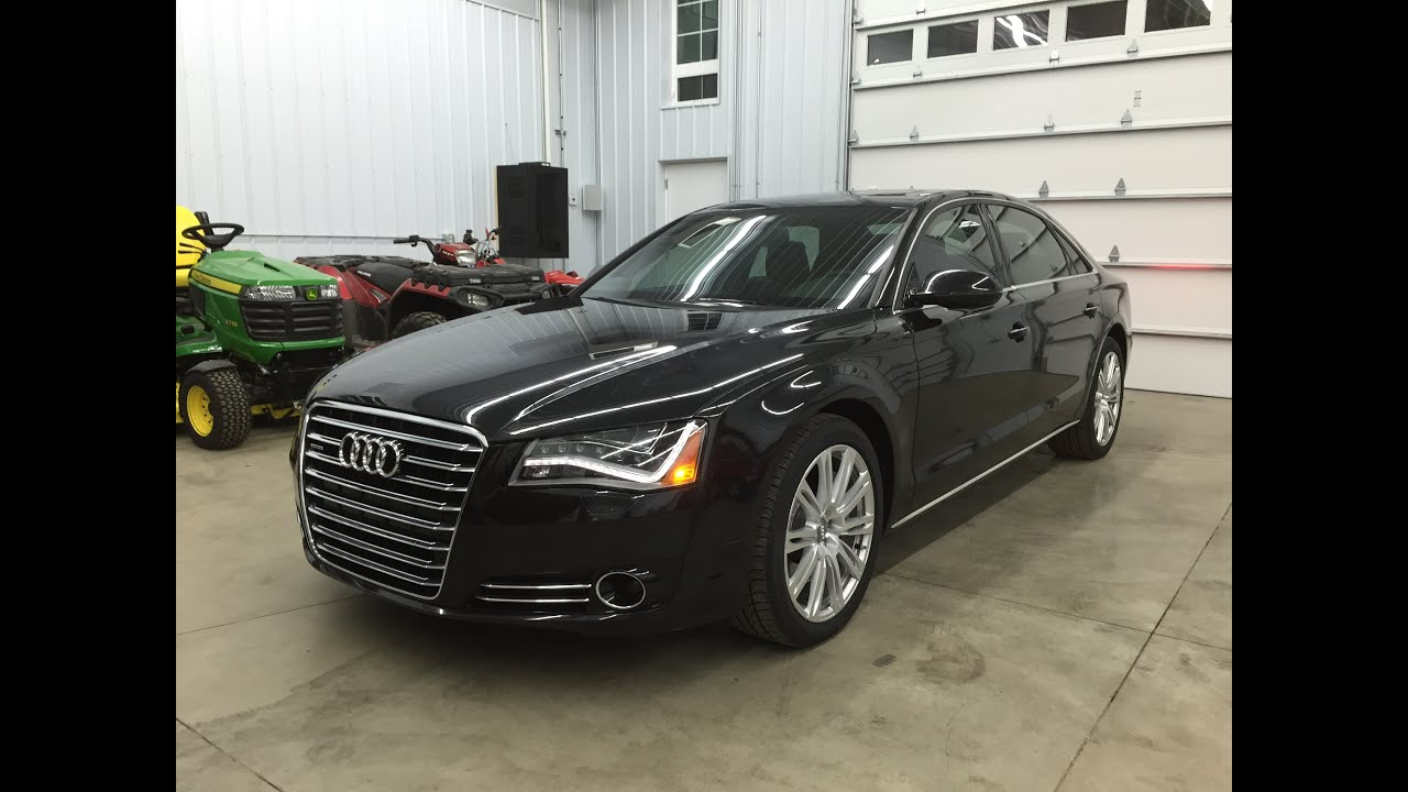 2011 Audi A8l 4 2 Quattro For Sale Msrp 109 850 Rare Find