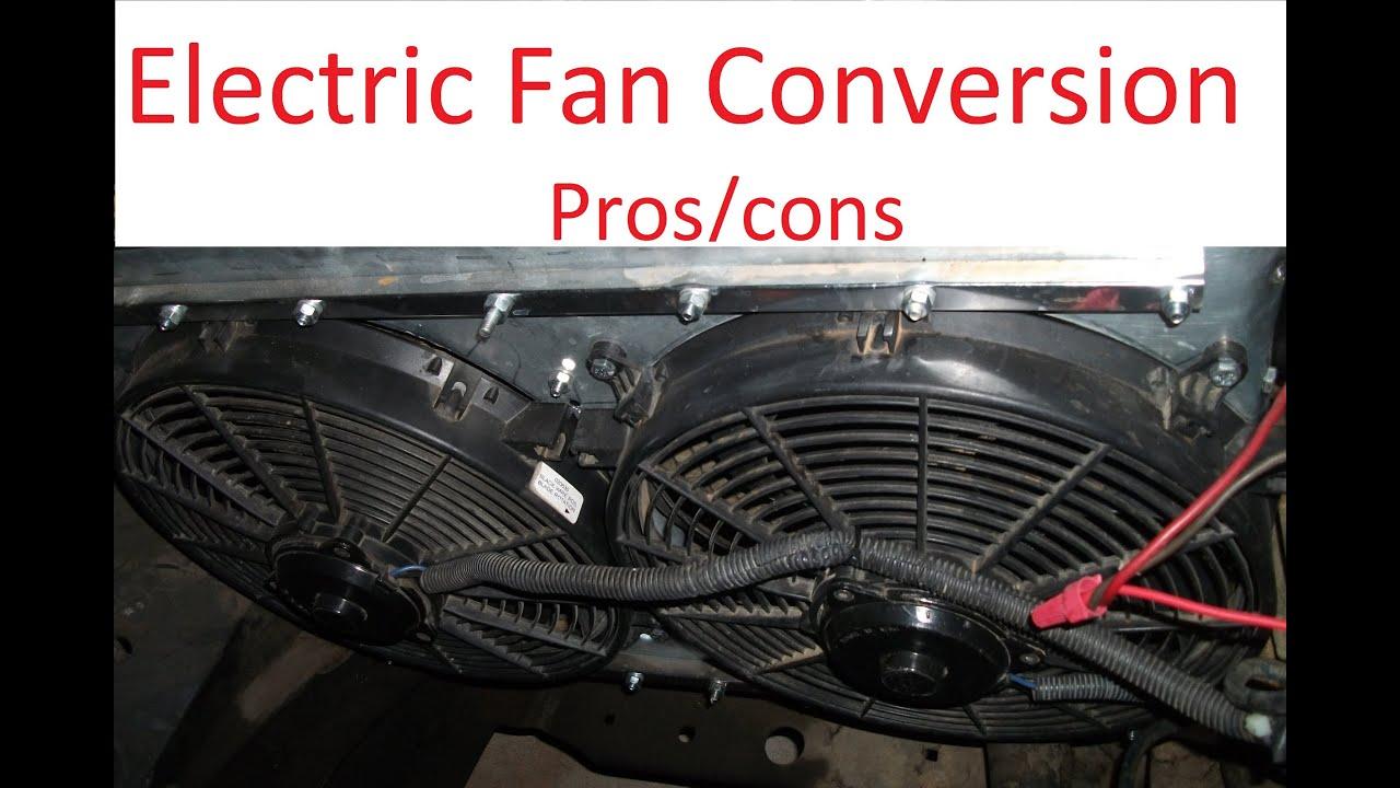 2003 Impala Cooling Fans Wiring Diagram Clutch Fan Vs Electric Fan Youtube