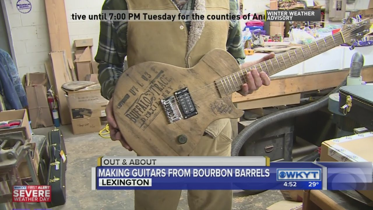 2b4db8c9830 Out   About  Bourbon Barrel Guitar 4 30 PM - YouTube