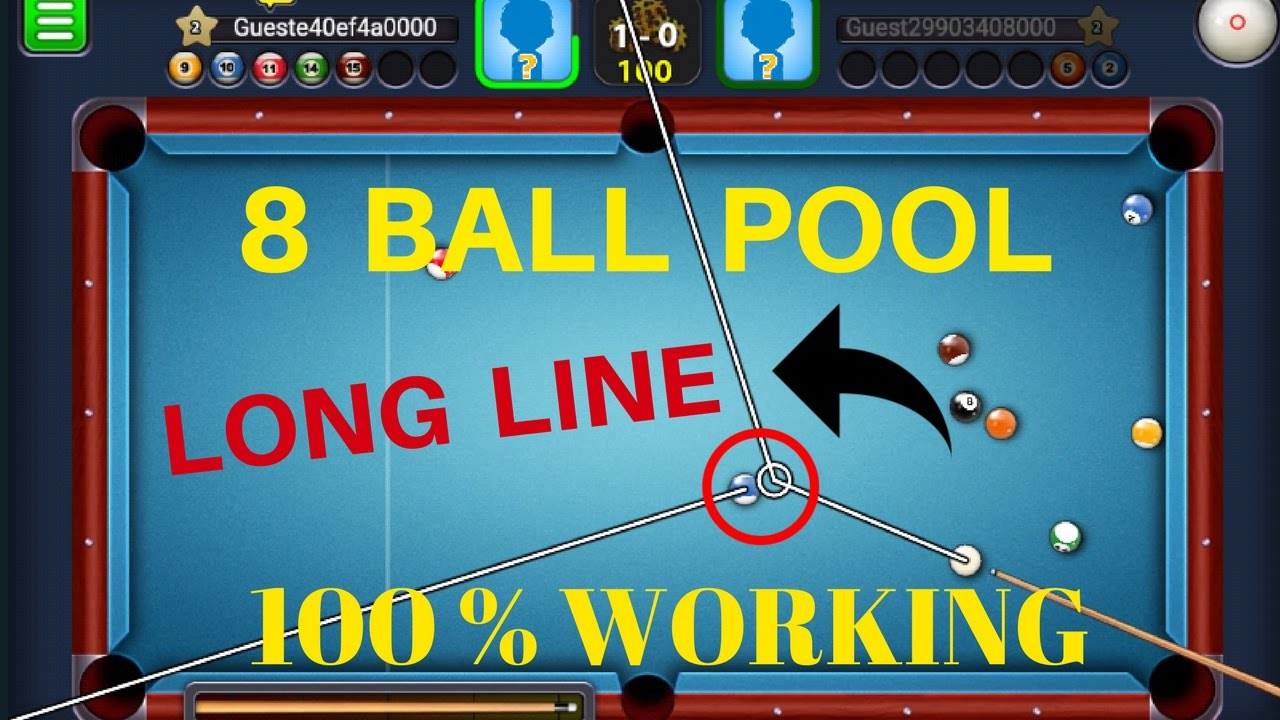 49971a1f9ca 8 Ball Pool Long Line Hack Without Root Android phone   100% Working Latest  2017   Urdu Hindi