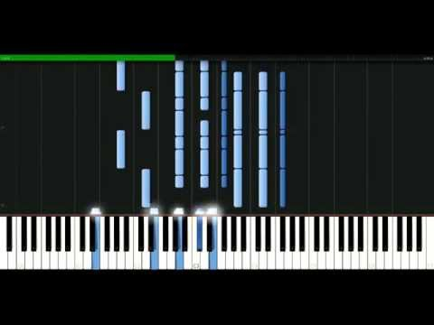 Rolling Stones - The last time [Piano Tutorial] Synthesia | passkeypiano