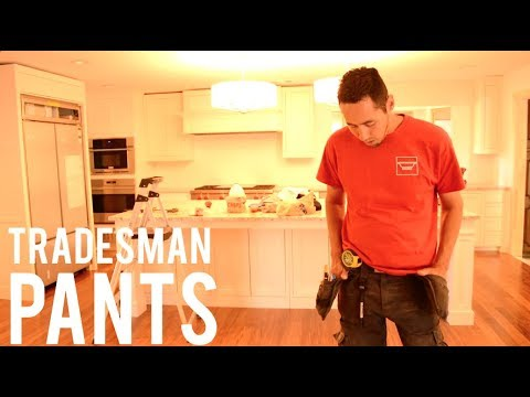 Best Work Pants for Tradesman (Carpenter, Electrician, Plumbing, Craftsman)