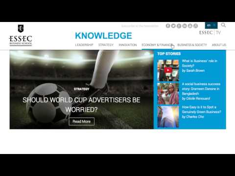ESSEC Knowledge, Research and Expertise at ESSEC