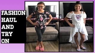 Girls affordable summer fashion haul and try on