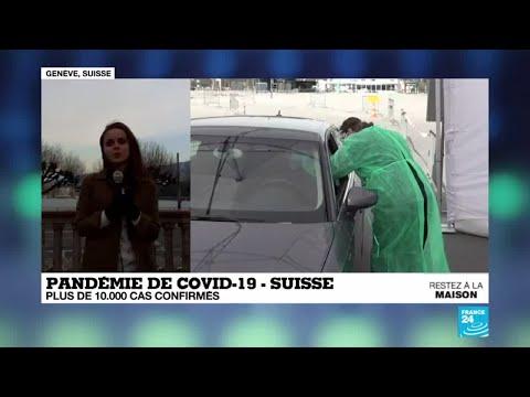 Coronavirus en Suisse: Plus de 10.000 cas confirmés au Covid-19