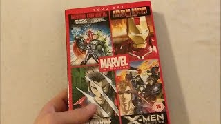 Marvel animated 7 dvd set anime movie