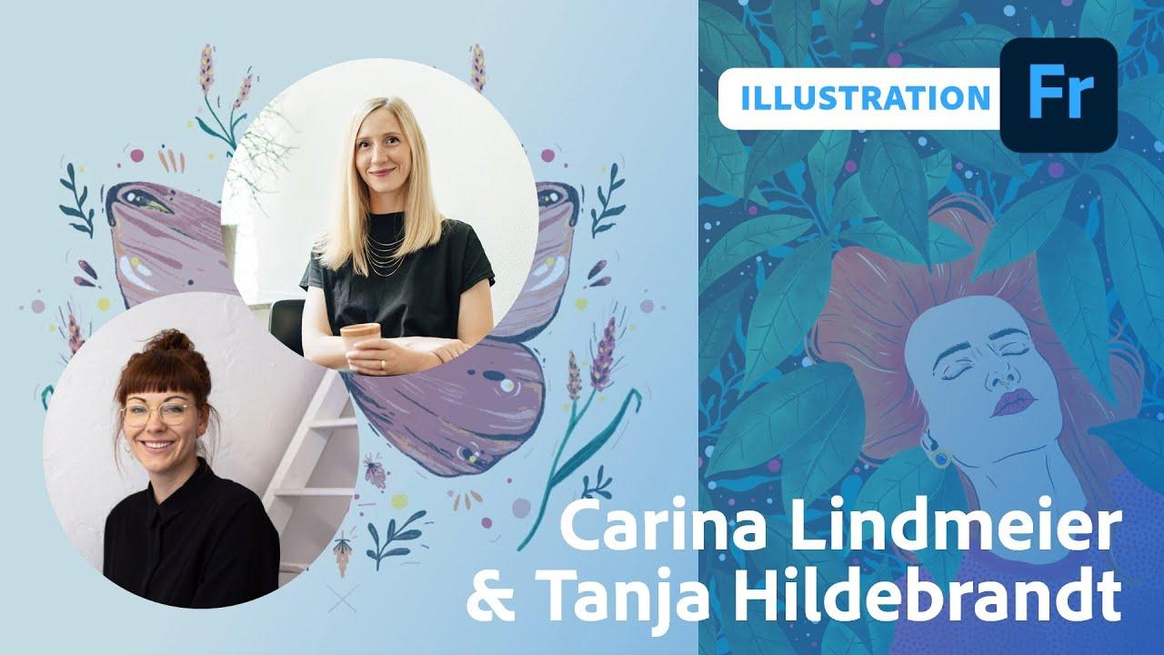 Stillherstillife Challenge - Illustration mit Carina Lindmeier und Tanja Hildebrandt  Adobe Live
