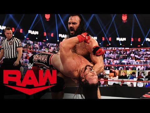 Drew McIntyre vs. AJ Styles – Gauntlet Match: Raw, Feb. 15, 2021